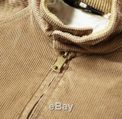 Levis Vintage Clothing Fresh Produce Corduroy Bomber Jacket (Large, BNWT, LVC)