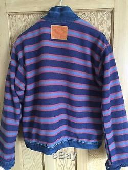 Levis Vintage Clothing LVC Blanket Lined 506xx Denim Jacket Size L