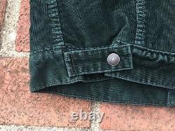 Levis Vintage Clothing LVC Western Denim Jacket Size M Lined Sample Corduroy
