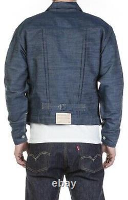 Levis Vintage Clothing Triple Pleated 1880 Denim Blouson NWT
