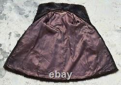 Man Mens Fur Coat Men Nutria Fur Coat Natural Vintage Brown Chest 42 (48)