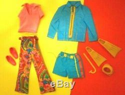 Mattel Vintage Ken doll SHORE LINES #1435 W VARIATION PANTS 1970's complete