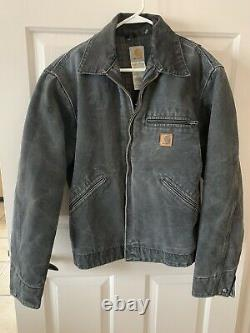 Mens Carhartt Coat Lined Vintage J97 PT