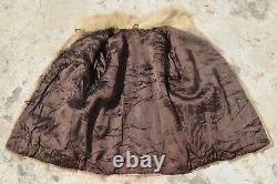 Mens Fur Coat Men Nutria Fur Coat Natural Vintage Chevron Amazing Chest 45 (84)