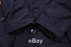 Mens Vintage John Rich Woolrich Down Lined Arctic Parka Coat Jacket L 46 R5028