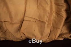 Mens Vintage Schott A2 Brown Lined Leather Flight Bomber Jacket Large 44 R6451