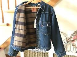 NWT LVC Levi's Vintage Clothing Western Frontier 1936 Type I Lined Jacket Sz40 M