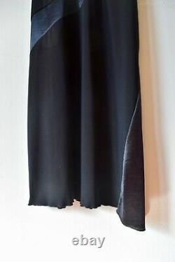 Prada Vintage Little Black Mini Dress with asymmetrical hem in great condition