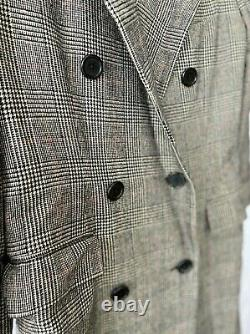 RALPH LAUREN Sz10 Wool Dress Coat, Double Breasted USA Vtg