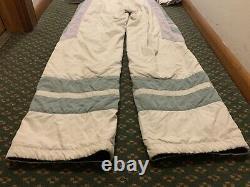 RARE BOGNER Women's Size M Vintage Ski One Piece 80s Style Ski Suit Body Suit
