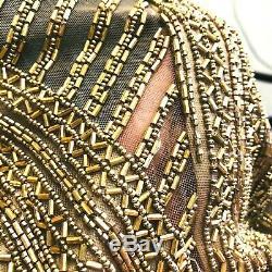 Rare Vintage Bob Mackie Womens 8 Dress Beaded (Fits like 6) 15% Restocking Fee