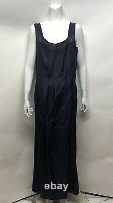 Rare Vtg Maison Martin Margiela AW1992 Navy Lining Dress 42 M