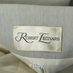 S 1960s Mint Dress Coat A-line Peter Pan Collar Pockets Lightweight 60s VTG