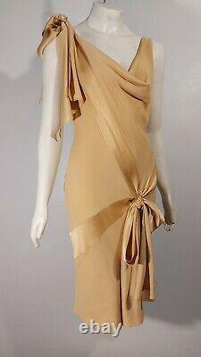 STUNNING bias cut JOHN GALLIANO Vintage dress, GREAT GATSBY