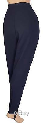 TOWN GIRL Vtg 1950s LINESMAN GABARDINE Ski Pants FLANNEL LINED Stirrups NOS L 31