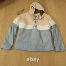 Unused Authentic Chanel Vintage Snow Line Faux Fur Hoodie Ski Size 38 New