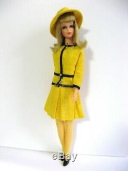 Used Mattel Barbie Vintage Outfit Francie # 1287 Border Line Complete Amp4812