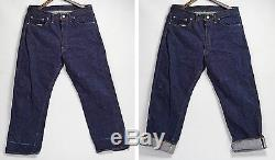 Levi's Line 36x30 Red Vintage Jeans E In Usa Big 501 Made 1960´s HID29YWE