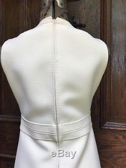 VINTAGE 1960's 70s Rety Couture Paris Mod A Line MINI DRESS S