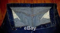 VINTAGE LEVIS 501 RED LINE (Authentic) Jeans Size 38x32