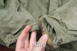 VTG 40s 50s US NAVY N-1 N1-2 ALPACA LINED DECK JACKET WW2 KOREAN MILITARY 46
