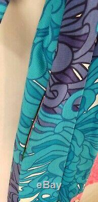 VTG 60's Kiyomi Hawaii 16 Dress Boho Tunic Hippy Boho Retro Cold Shoulder A Line
