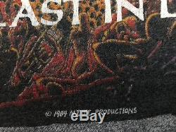 VTG 84 Dio Last In Line Tour Shirt Sz M/L Evil Rock Satanic Metal Sabbath 666