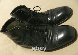 VTG Alden SABEL Plumb-Line 502 Back Cap-Toe Ankle Boots 12.5 B/D Mens
