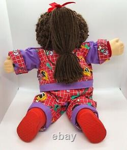 Vintage 1989 Hasbro Cabbage Patch Kid Designer Line Hair Brown 123 South CLEAN
