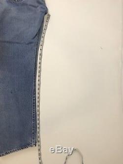 Vintage 60s Levis 501 Selvage Red Line Denim Blue Jeans Big E