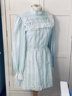 Vintage 60s Mod Mini dress super Rare Brand TWIGGY Label collectable original