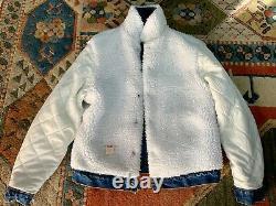 Vintage 80's Levi's Denim Sherpa Jacket not LVC Levi's Vintage Clothing