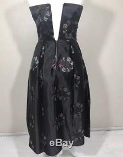 Vintage A-line Dress Black by Alfred Shaheen