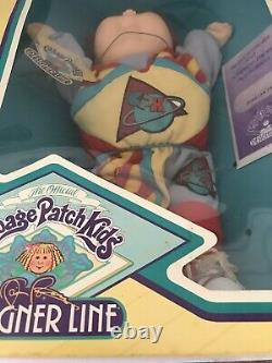 Vintage Cabbage Patch Kids Designer Line 1988 Nib Dunstan Fred Red Hair Doll