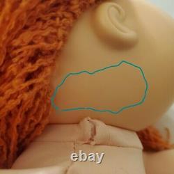 Vintage Cabbage Patch Kids HM #19 RED HAIR Girl GREEN EYES GUC Designer Line