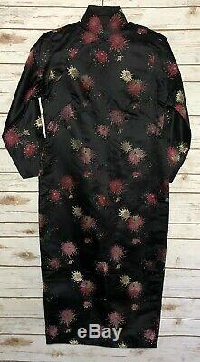 Vintage Cheongsam Qipao Silk Embroidered Design Chinese Dress Silk Lined Brocade