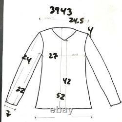 Vintage Christian Dior Monsieur Trench Coat Jacket Mens 44 L Brown Wool Lined