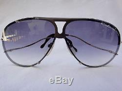 Vintage Colani Design Organic Line Blue Gradient Lenses 1980's Made In Italy