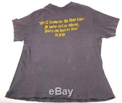 Vintage Dio Last in Line Shirt 1984 Album Tour Black Sabbath Heavy Metal Ozzy