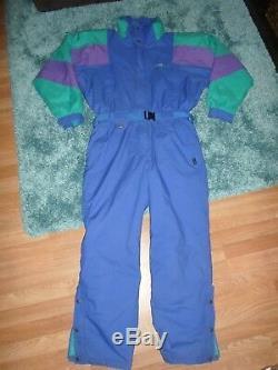 Vintage FILA Magic Line 46 Mens Snowsuit and Ski Suit