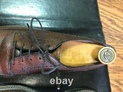 Vintage Florsheim Imperial #93602 9D with Vintage Florsheim Shoe Tree