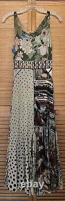 Vintage Fuzzi Jean Paul Gaultier 90s y2k Mesh Maxi Tank Dress Grunge S M