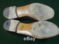 Vintage Gucci Dark Brown Horsebit Loafers