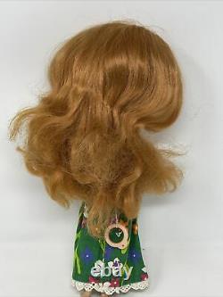 Vintage Kenner Blythe 1972 Side Part Redhead Original Dress Panties 7 Lines