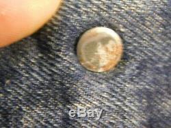 Vintage LEVI'S BIG E Denim Jeans Pants 505 0217 XX Red Line Zipper Fly 31x 28