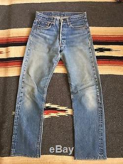 Vintage Levi's 501 # 6 Redline 30/33 29/29 Red line Selvedge