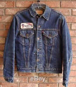 Vintage Levi's Big E Blanket Lined Jacket S