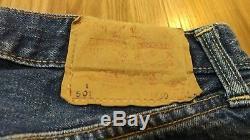 Vintage Levis 501 S Big E Single Stitch Pocket Selvedge 30x31 Red Line Jeans