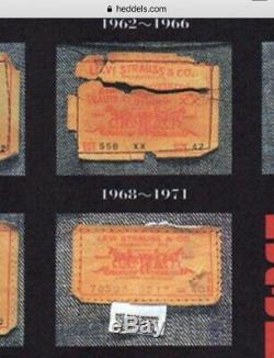Vintage Levis Denim Trucker Jacket Size M Wool Blanket Line RARE 557xx Type iii