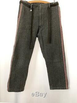 Vintage Lined Sashiko Cloth Fireman Firefighter Kendo Judo Boro Tsugihagi